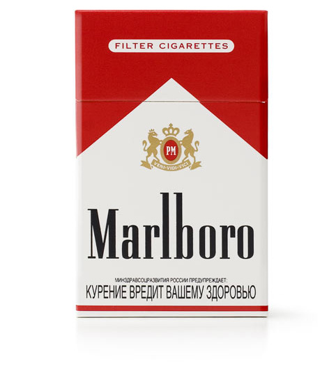 Taking Marlboro cigarettes United Kingdom